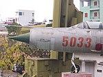 MiG-21PFM portside nose at B52 Victory Museum 20060214.jpg
