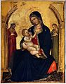 Michele Giambono (attr.), madonna del latte tra due sante martiri - 2.jpg