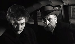 Kim Novak en Fredric March in Middle of the Night