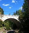 Middlebury Gorge Concrete Arch Bridge