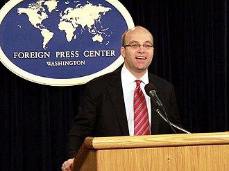 Michael Allen (journalist) - Michael Allen in 2010