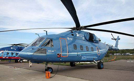 Mil Mi-38 at the MAKS-2011 (01)