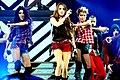 Miley Cyrus Wonder World concert at Auburn Hills 03.jpg