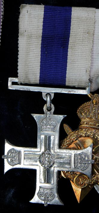 Military Cross - MC awarded to 2nd Lt. E. W. Fane de Salis (1894-1980)