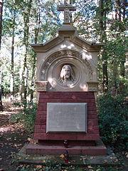 Pomnik w kwaterze ewangelickiej