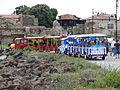 Mini train in Nesebar.JPG
