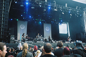 Ministry (band) - Ministry performing live at the 2006 M'era Luna Festival (Hildesheim, Germany)