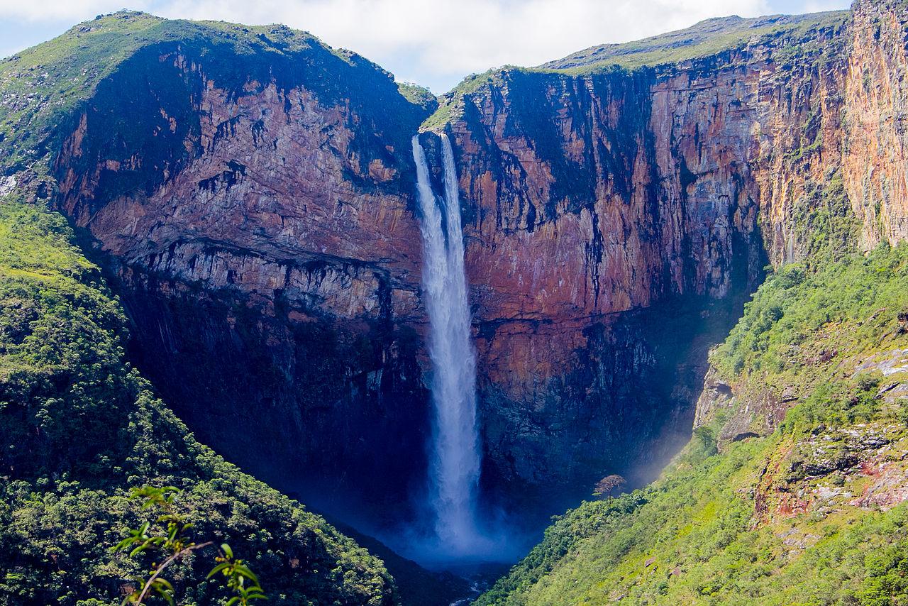 Homem morre na maior cachoeira de Minas Gerais