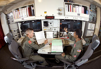 740th Missile Squadron - 740th Missile Squadron combat crew on alert