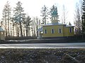 Mobile ortodox church. Constructed for Army of Russia. Builded from steel plates. - panoramio.jpg