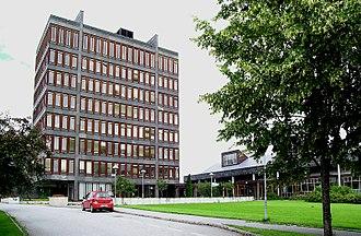 Vikersund - Modum Town Hall at Vikersund