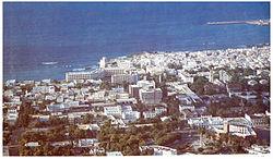 Blick über die Stadt, 1980