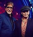 Mohit Chauhan and Amitabh Bachchan.jpg
