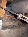 Molen Achtkante molen, kap bovenas steenbed (1).jpg