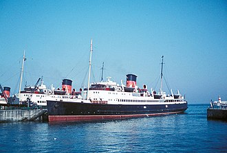 Isle of Man Steam Packet Company - Mona's Queen (IV) in 1961