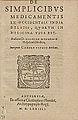 Monardes - 1574 - De simplicibus medicamentis - UB Radboud Uni Nijmegen - 208278206 01 title page.jpg