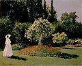 Monet, Claude - Woman in the Garden. Sainte-Adresse.jpg