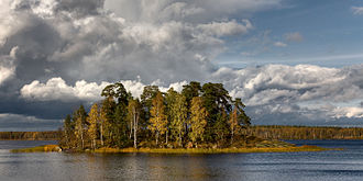 Leningrad Oblast - Monrepos Park in Vyborg