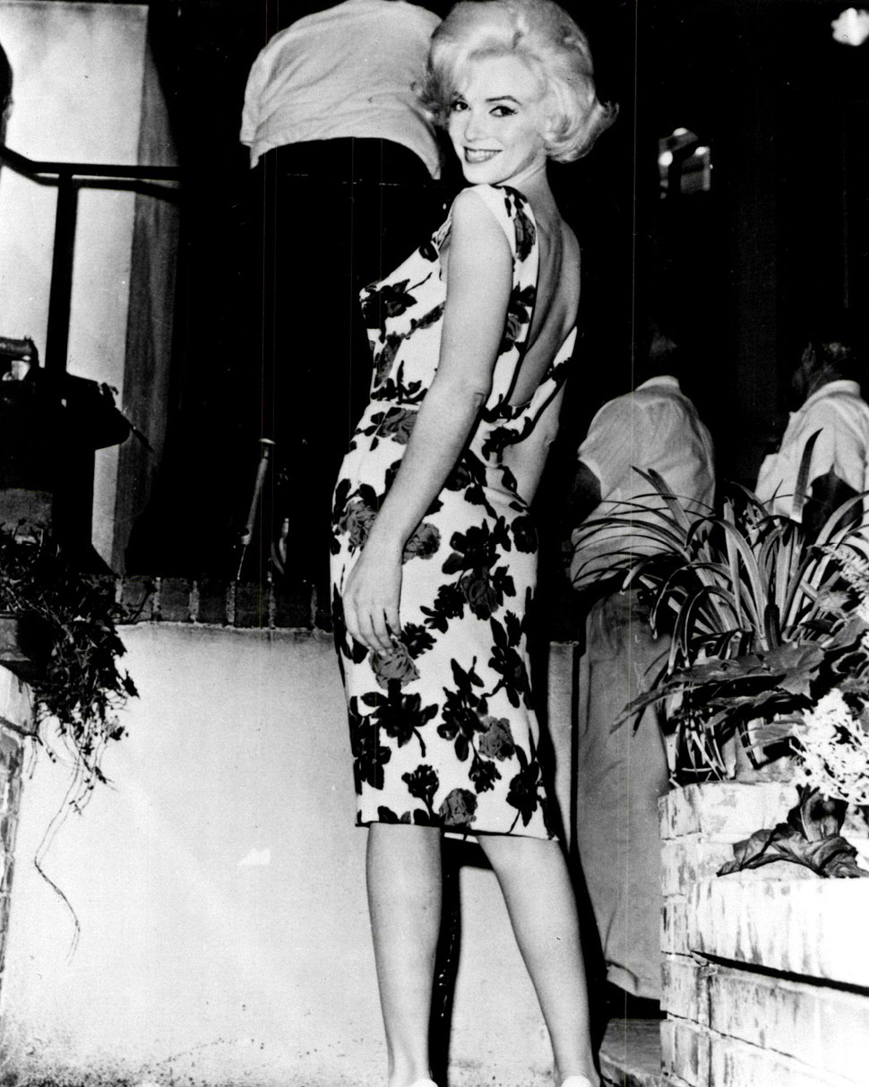 Monroe on the set of Something's Got To Give