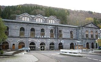 Mont-Dore - The baths