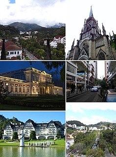 Petrópolis Municipality in Southeast, Brazil