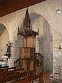 Montagnac-sur-Auvignon église chaire.JPG