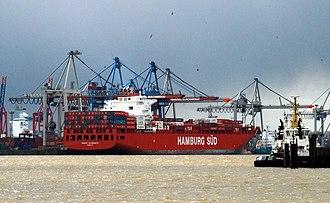 Hamburg Süd - Container vessel Monte Sarmiento
