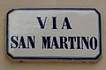 Montecatini Terme Via San Martino street name 01.JPG