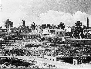 Mishkenot Sha'ananim - Montefiore Quarter - Mishkenot Sha'ananim 1948