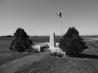 Battle at Chignecto - Image: Monumentat Battleat Chignecto