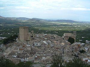 Moratalla, Murcia - Image: Moratalla vista general