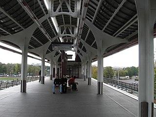 Ulitsa Sergeya Eyzenshteyna Moscow Monorail station