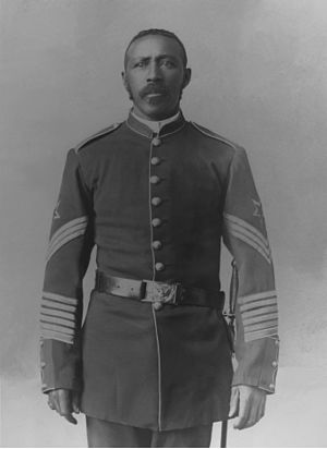 Moses Williams (Medal of Honor) - Ordnance Sergeant Williams