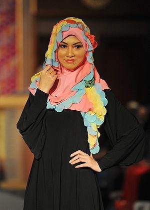 Islamic fashion - Moslema in style fashion show in Kuala Lumpur