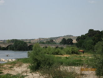 Svilengrad - The Bridge over the Maritsa River.