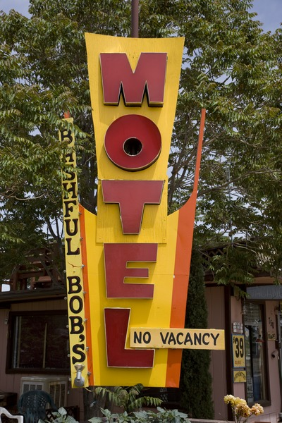Motel sign, Page, Arizona LCCN2010630232