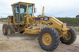 Grading (engineering) - Modern road grader