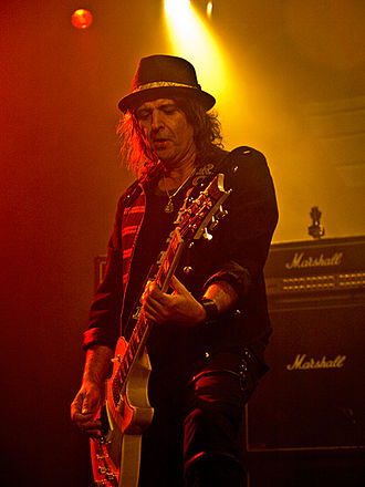 Phil Campbell (musician) - Campbell performing in 2011
