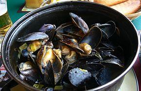 Restaurant Moules Dans La Baie De Saint Michel