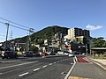 Mount Hinoyama and Japan National Route 2.jpg