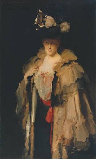 Ethel Smyth - Mrs. Charles Hunter (née Mary Smyth, Ethel's sister), John Singer Sargent, 1898