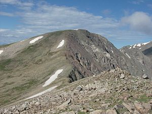 Mount Edwards (Colorado) - Image: Mt Edwards from the NE