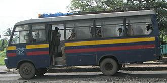 Police bus - Image: Mumbai Police Bus