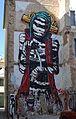 Mural prop de la plaça de mossén Sorell, el Carme, València.JPG