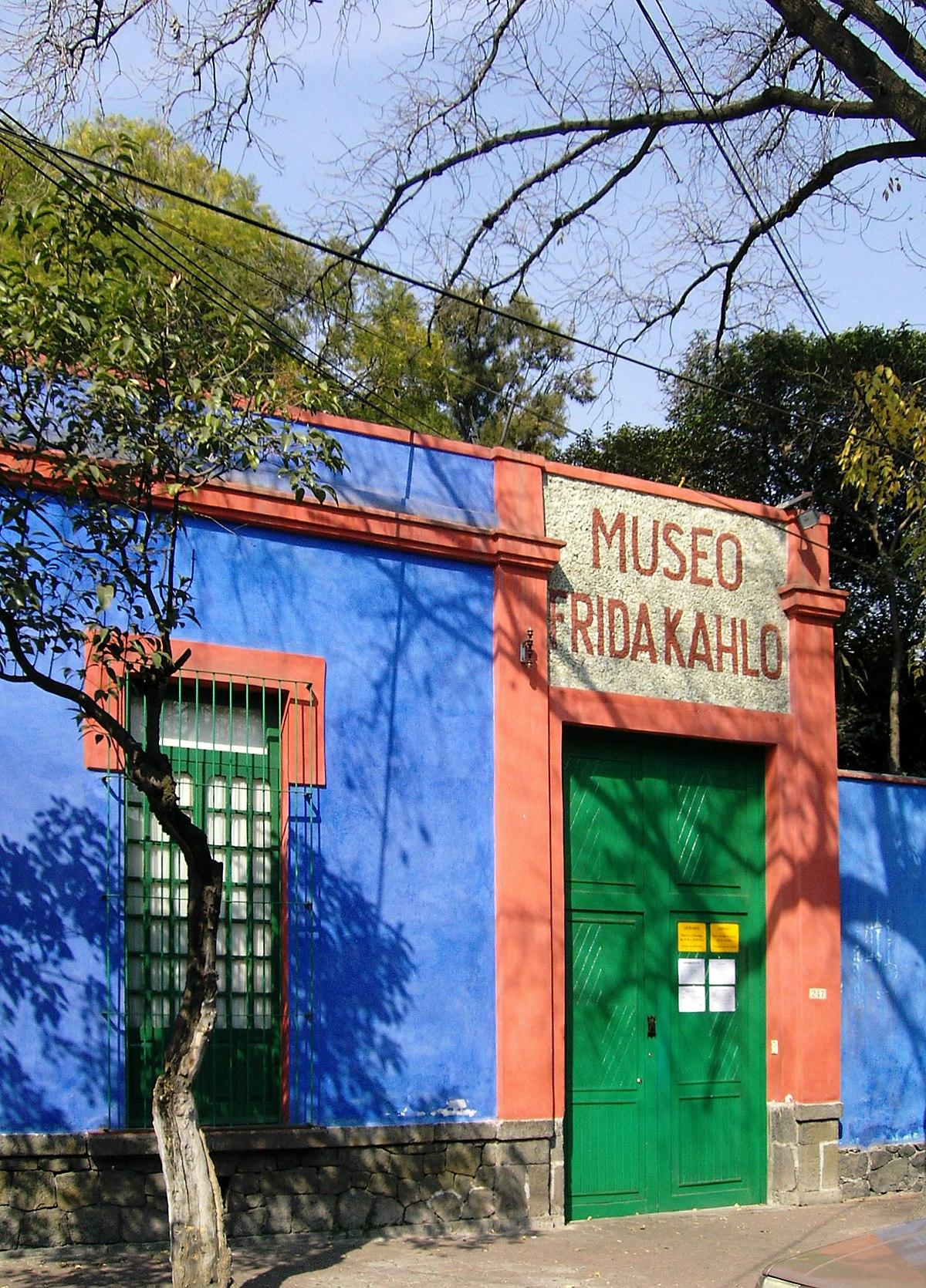 Museo frida kahlo wikipedia la enciclopedia libre for Cuartos decorados de frida kahlo