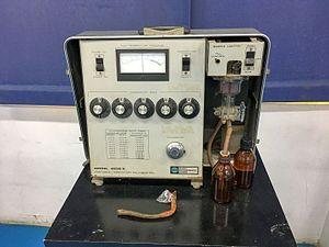 Salinometer - A salinometer