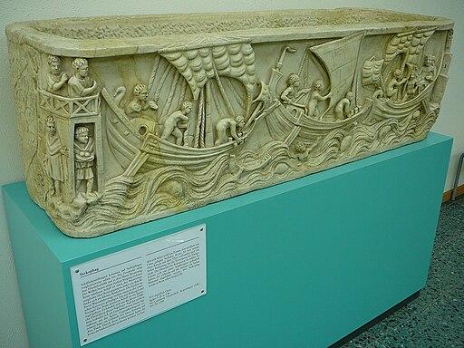Museum für Antike Schifffahrt, Mainz 01. Spritsail