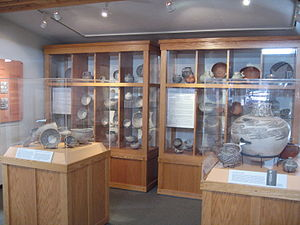 Museum of Northern Arizona - Ceramic vessels in the Babbitt Gallery