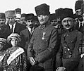 Mustafa Kemal and Refet during the campaign for orphans.jpg