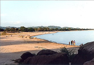 Nkhotakota - Mwaya Beach at Nkhotakota Bay on Lake Malawi